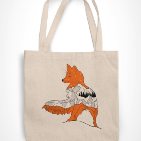 Soulwave Fox Tote Bag